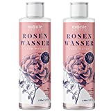 Reines Rosenwasser MonteNativo 2x200ml (400ml) - 100% natürlich, echtes Gesichtswasser, Rein und...